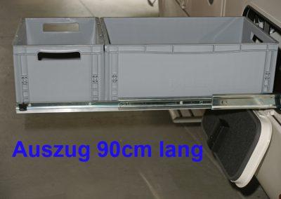 Unterflurauszug 90cm Länge