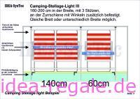 Camping-Stellage light CSL