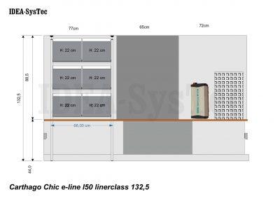 Skizze für einen Carthago E-Line i 50 Linerclass