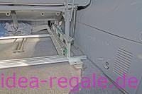 Idea-Auszug für Van, Transporter, Befestigung an der Sitzschienenkonsole