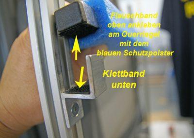 Klettbandsicherung am VCT