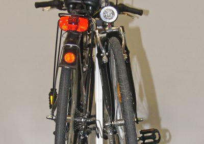 Beim Pedi-Packer-MT stehen die Räder grundsätzlich leicht schräg um Platz zu sparen