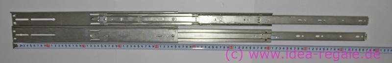 Kugelgelagerte Teleskop-Ausziehträger mit Überauszug Model 2907-30