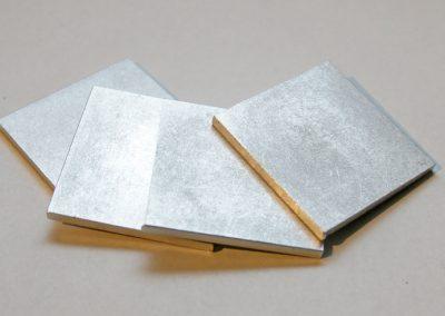 Aluminiumplättchen