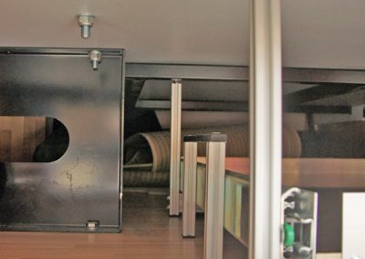 Auszug - Unterflurauszug eingebaut