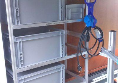 Dieses Nischeregal wurde von unserem Top-Händler OBEK in Otterstadt eingebaut.