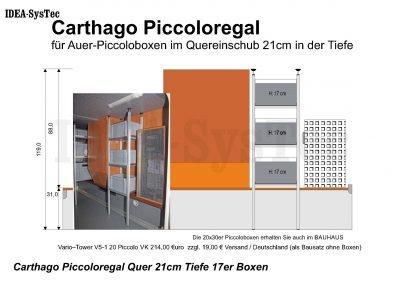 Carthago Piccoloregal