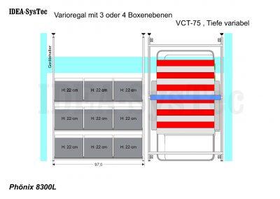 Skizze Phönix Regal und VCT