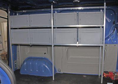 Ford Transitbus Einbau