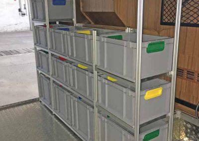 Hymer Starline - Kundenfoto - die Boxen mit dem farbigen Griff bekommen Sie über NiNeKa
