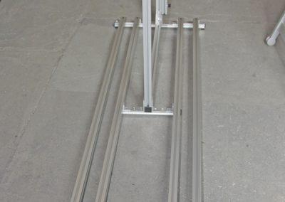 Pedi-Packer-MT 50er Version. Der Bodenträger ist bei dieser Version nur 50cm in der Breite und kann bei Bedarf auf 26cm gekürzt werden.