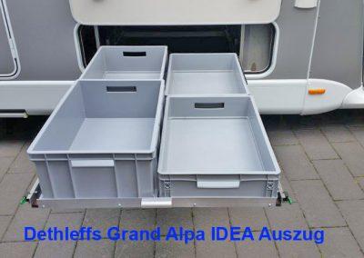Dethleffs Grand Alpa IDEA Auszug