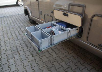 Unterflurauszug Hymer Duo Mobil