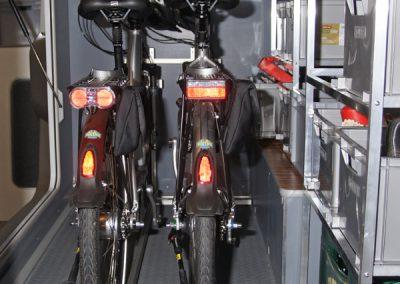 Frankia mit IDEA Regale Fahrradträger