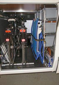 Boxentower und unser neuer Fahrradträger in einem Arto