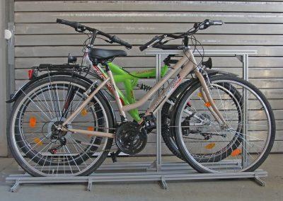 Im Pedi-Packer-MT kann man die Räder auf gegenläufig einstellen.