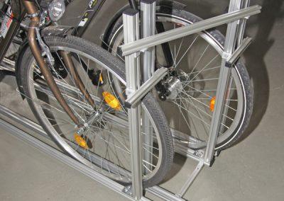 Pedi-Packer Versetzte Version Fahrradträger Heckgarage IDEA
