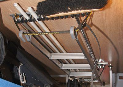 Geräteschiene mit Leiterriemen