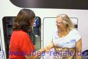"""You Tube Video CSD 2018 Auf der Messe in Düsseldorf wurden wir von Frau Claudia Kokkot-Würthele und Ihrem Mann Michael vom You Tube Kanal """" LivingandTravel """" besucht. Und nun seht ihr das Messe-Video über die Produkte von IDEA-SysTec. Vielen Dank an die beiden für die gelungene Umsetzung und an Herrn Wais für das tolle Interview."""