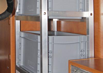 Carthago Piccoloboxen Regal mit Boxen 20x30cm