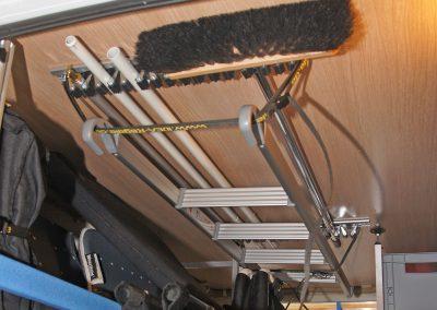 Gerätehalter Deckenmontage