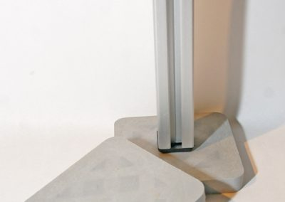 Unterlegscheiben aus Kunststoff circa 7x7cm Groß in drei Stärken