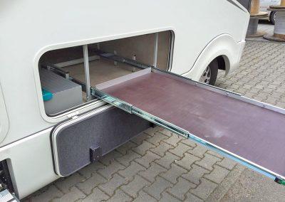 Unterflur-Auszug 120cm Länge