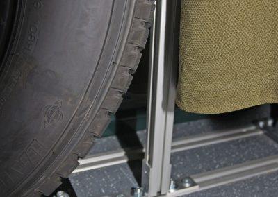 Befestigung an der Sitzscheien vom VW Rockton