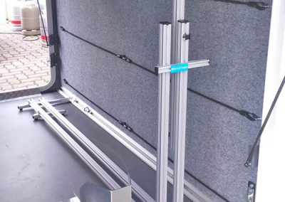 Pedi-Packer und Rollerwippenhalterung