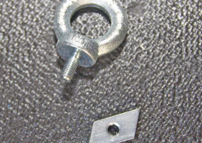 Hymer-unten-Zurrschiene Trapezstein 23 x 15 x 6 und Ringschraube M8