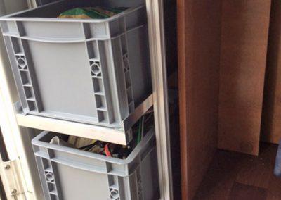 Nischenregal für Piccoloboxen