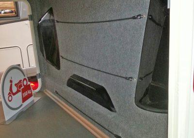 Carthago neue Rückwand in Bus-Optik beim Chic C-Line