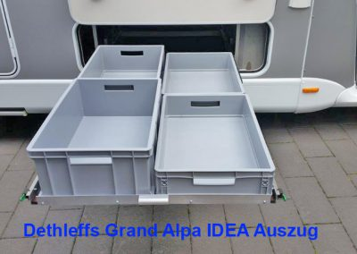 Dethleffs Grand Alpa IDEA Auszug