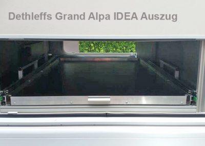 Dethleffs Grand Alpa IDEA Auszug Beifahrer