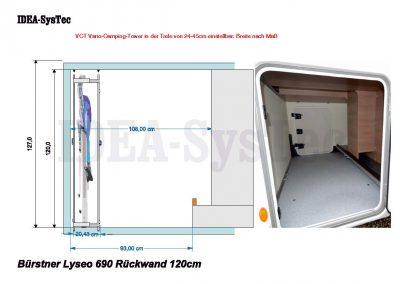 Bürstner Lyseo 690 Rückwand Front 02 120cm Beispiel
