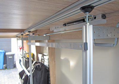 Kundeneinbau - CSL - Camping-Stellage-light  Das Gestell wurde vom Kunden noch modifiziert und an seine Bedürfnisse angepasst