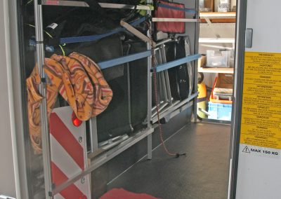 Adria-Matrix-670-SL-Platinum-Deckenwinkel an Querabstützung