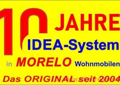 Morelo 10 Jahre mit IDEA-Systemen